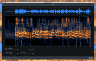 iZotope RX 7 Advanced : dialoguecontour