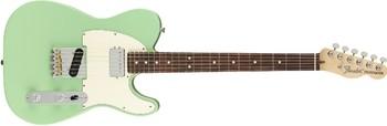 Fender American Performer Telecaster Hum : American Performer Tele Hum Satin Surf Green