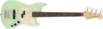 Fender American Performer Mustang Bass : American Performer Mustang Bass Satin Surf Green