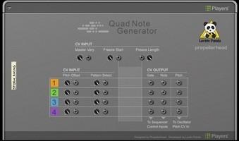 PropellerHead Quad Note Generator : PropellerHead Quad Note Generator (99335)