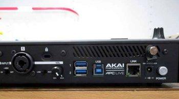 akai-APC Live rear unofficial 2