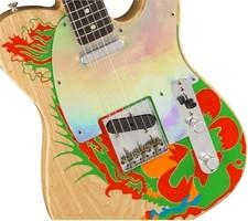 Fender Limited Edition Jimmy Page Dragon Telecaster : 9216008800_gtr_frtbdydtl_001_nr