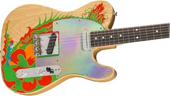 Fender Limited Edition Jimmy Page Dragon Telecaster : 9216008800_gtr_cntbdyright_001_nr