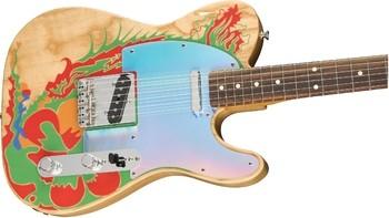 Fender Jimmy Page Telecaster : Jimmy Page Telecaster, Rosewood Fingerboard, Natural (2)