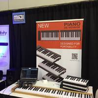 Piano de Voyage Piano de Voyage : Piano de Voyage NAMM 2019 Booth