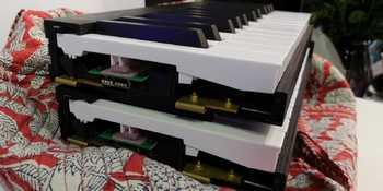 Piano de Voyage NAMM 2019 Mechanism Stack