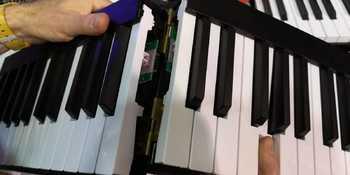 Piano de Voyage NAMM 2019 Mechanism