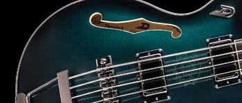 Duesenberg Alliance Dropkick Murphys Bass : ADM bass body close