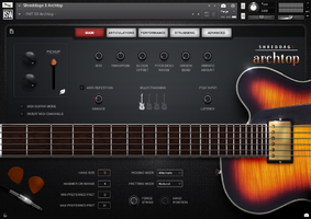 Impact Soundworks Shreddage 3 Archtop : s3-arch-1