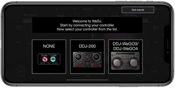 Pioneer WeDJ 2 for iPhone : wedj-for-iphone-tutorial-3