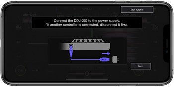 Pioneer WeDJ 2 for iPhone : wedj-for-iphone-tutorial-2