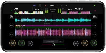 Pioneer WeDJ 2 for iPhone : wedj-for-iphone-main