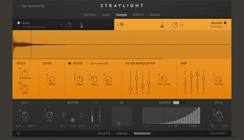 Straylight Sample