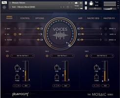 Heavyocity Mosaic Voices : Mosaic-Voices_Mixer