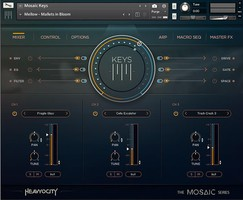 Heavyocity Mosaic Keys : Mosaic-Keys_Mixer