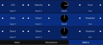 spectrum-modulation-matrix