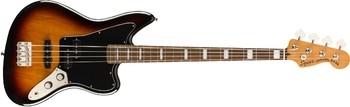 Squier Classic Vibe Jaguar Bass : Classic Vibe Jaguar Bass (3-Color Sunburst)