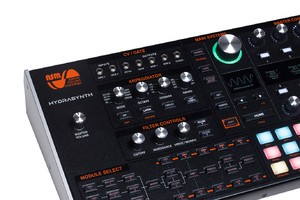 Ashun Sound Machines Hydrasynth Desktop / Rack : Hydrasynth Desktop Left Front