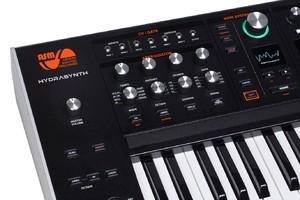 Ashun Sound Machines Hydrasynth : Hydrasynth Keyboard Left Panel