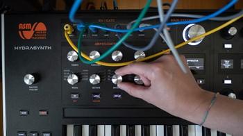 Ashun Sound Machines Hydrasynth : Hydrasynth Keyboard Arp