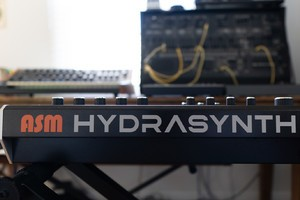 Ashun Sound Machines Hydrasynth : Hydrasynth Keyboard Rear