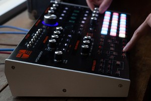 Ashun Sound Machines Hydrasynth : Hydrasynth Keyboard Left