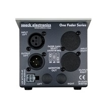 Speck Electronics Fader 1 : Fader 1 Rear