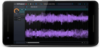 Zenbeats smartphone waveform
