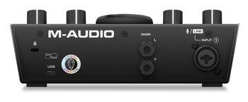 M-Audio Air 192|4 : Air-192-4_Rear_hires