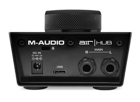 M-Audio Air Hub : Air-Hub Rear