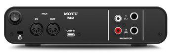 MOTU M2 : m2_rear_2