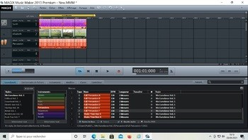 Magix Music Maker 2013 : Sans titre