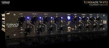 Tornade Music Systems W492 Dual EQ