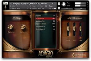 8dio Adagio Violins Vol. 1
