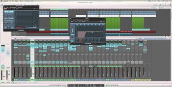 mixer audio en home studio