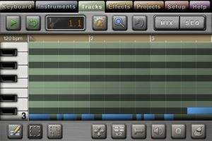 My iPhone is a sequencer