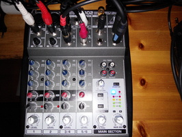 table de mixage xenyx 802