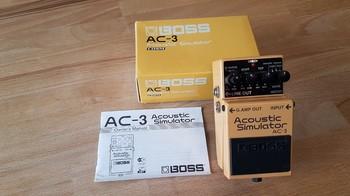 Boss AC-3 Acoustic Simulator (30022)