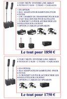 LD Systems CURV 500 Power Set (37859)