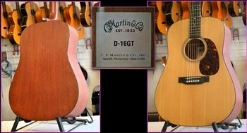 Guitare Martin D16 GT....N°1835569 USA...montage 1