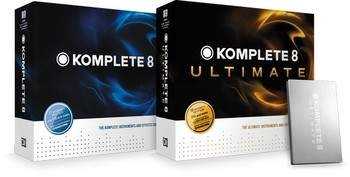 Native Instruments Komplete 8 et Komplete 8 Ultimate