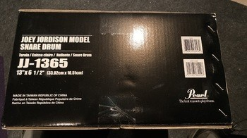 Pearl JJ1365 Joey Jordison Snare Signature (58747)