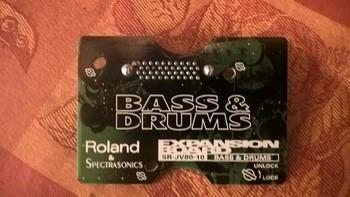 Roland SR-JV80-10 Bass & Drums (21753)