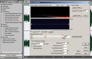 Réduction du bruit dans Adobe Audition
