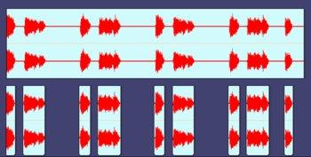 Morceler l'audio pour quantiser
