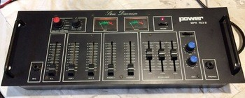 A vendre Table de mixage 5 voies DJ POWER MPK 703 B - 30 €