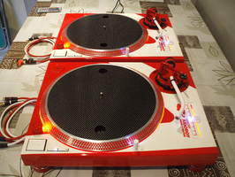 TECHNICS SL-1200 MK2 Custom Special Edition - 750 €
