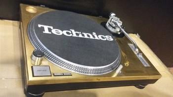 Technics SL-1200 MK2 GOLD LIMITED (15707)