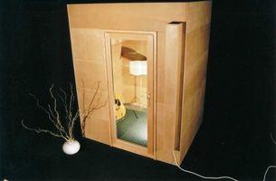 Cabine tip top wood