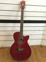 Washburn EA18 - Transparent Red (93519)